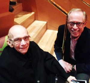 Dave Ferguson, the Founder of the Caesura Youth Orchestra, met Maestro Abreu, the Founder of El Sistema, at Disney Hall, February 21, 2014